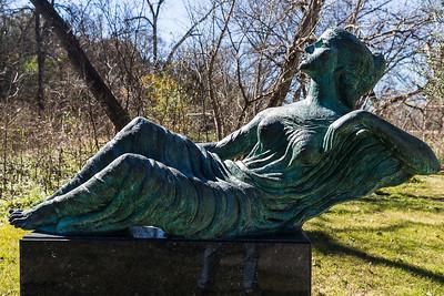 Muse III 1962, bronze