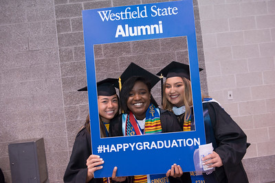 Westfield State University Undergraduate Commencement, 2018