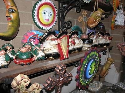 Bazaar del Mundo merchandise.