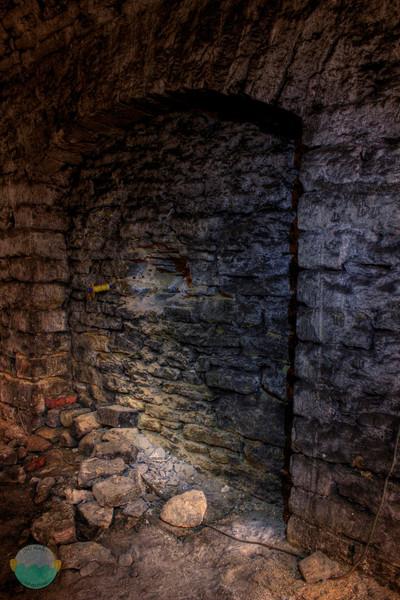 Gerke Wall<br /> A wall in Gerke Brewery's lagering tunnels.