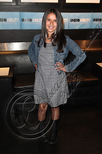 WEST HOLLYWOOD, CA - APRIL 21:  Actress Heaven Marie arrives at the Uneeqability LIVE! concert at The Roxy Theatre on April 21, 2012 in West Hollywood, California.  (Photo by Chelsea Lauren/WireImage)