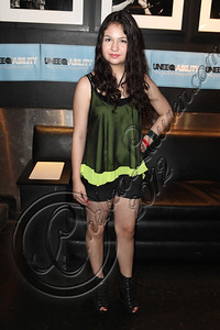 WEST HOLLYWOOD, CA - APRIL 21:  Actress / singer Shanaya Fastje arrives at the Uneeqability LIVE! concert at The Roxy Theatre on April 21, 2012 in West Hollywood, California.  (Photo by Chelsea Lauren/WireImage)