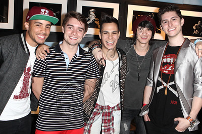 WEST HOLLYWOOD, CA - APRIL 21:  Midnight Red arrives at the Uneeqability LIVE! concert at The Roxy Theatre on April 21, 2012 in West Hollywood, California.  (Photo by Chelsea Lauren/WireImage)