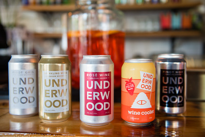 Union Wine Company at Bunk Sandwiches - Underwood Sparkling in a Can Launch - Brooklyn, NY - Kimberly Mufferi Photography