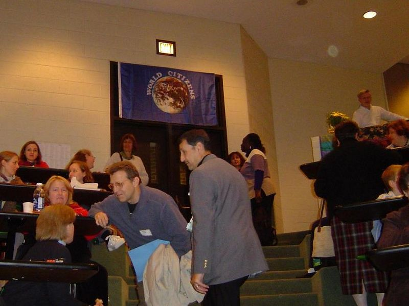 Informal consultation and socializing is an important aspect of Convention.