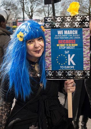 Unite for Europe March - London 2017