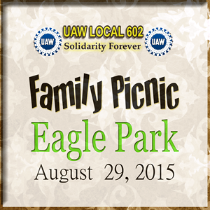 United Autoworkers 602 Family Picnic Eagle MI