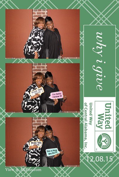United Way Wrap Up Party 2015