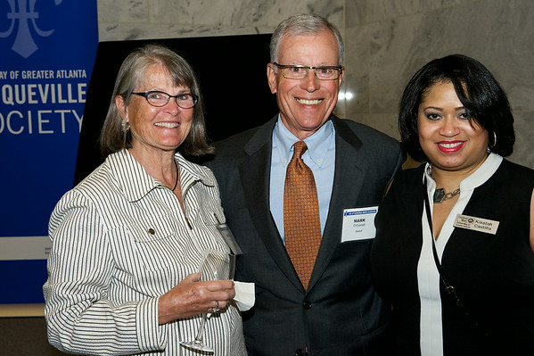 United Way's Tocqueville Awards event at the Federal Reserve Bank of Atlanta.