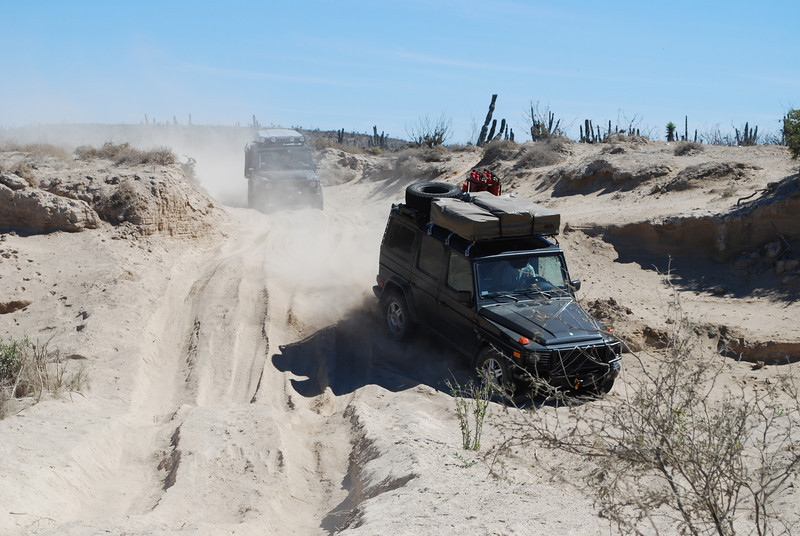 nasty silt bed - nicely churned up because the Baja 1000 came through here last November