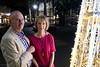 Kent Fry with wife Alison Kimble-Fry