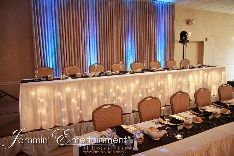 DJ Jason Rullo - Tarra & Ron's Wedding Reception 9-15-2012