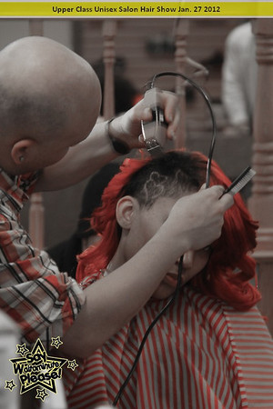 Upper Class Unisex Salon Hair Show Jan 27
