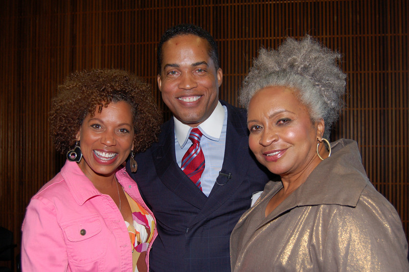 Rolonda Watts, Kevin Ross and Lena Cole Dennis<br /> <br /> Photo by Isidra Person-Lynn
