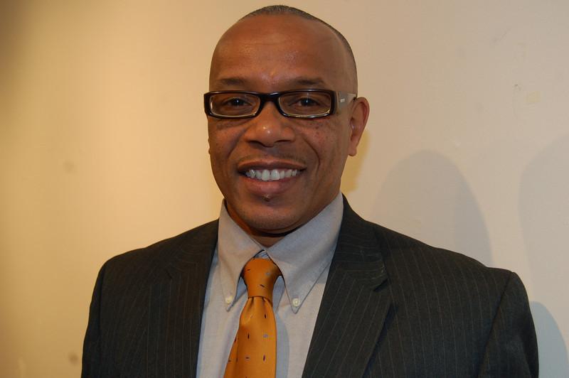 James Bolden, media representative, Supervisor Mark Ridley Thomas<br /> <br /> <br /> Photo by Isidra Person-Lynn