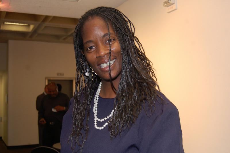 Sister Charlene Muhammad, KJLH, Final Call<br /> <br /> <br /> Photo by Isidra Person-Lynn