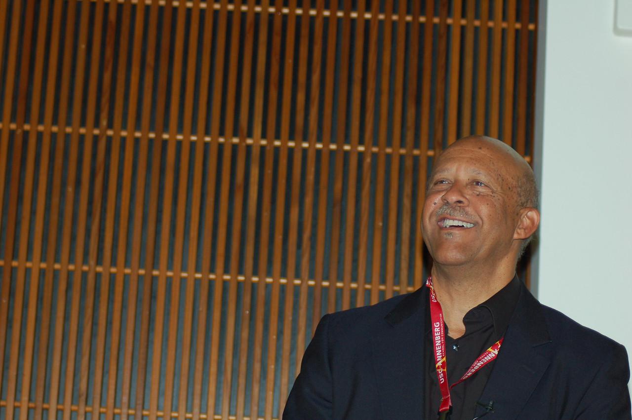 Ernest Wilson III, Dean of the Annenberg Graduate School<br /> <br /> <br /> <br /> Photo by Isidra Person-Lynn