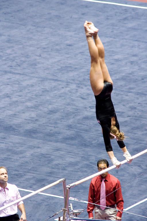 Utah Gymnastics meet 23Jan09