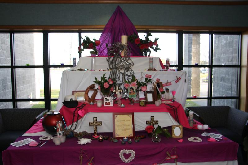 Altar by El Dia de los Muertos Petaluma