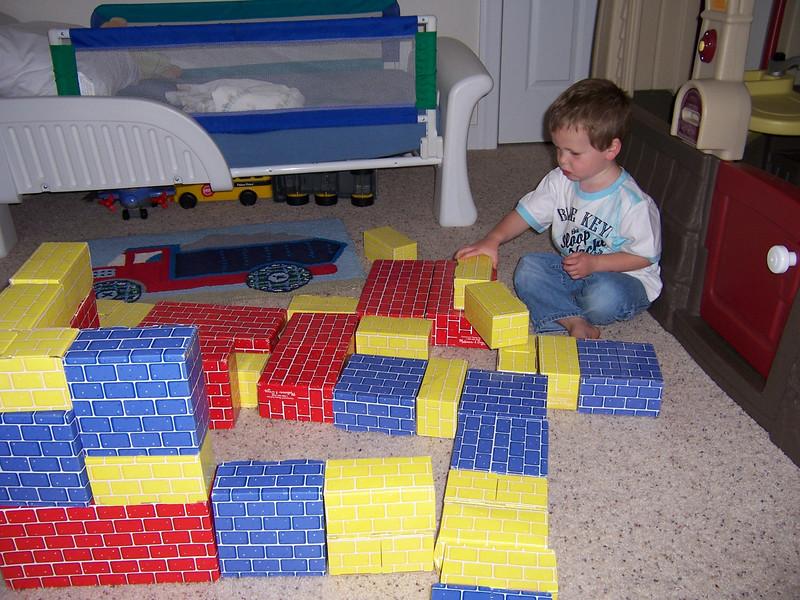 5/17/07 Seth's 3rd birthday
