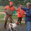 Steve Pickard receiving Bullett's ribbon (photo by Kathy Hansen)