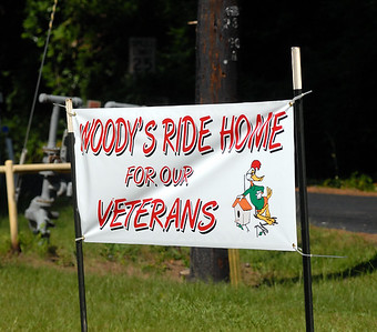 WOODY'S RIDE HOME FOR OUR VETERANS 6-6-09