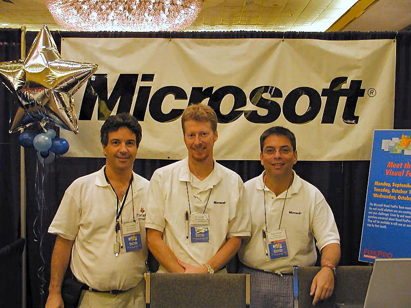 Alex Feldstein, Jim Saunders, Ricardo Wenger