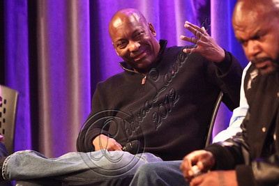 "LOS ANGELES, CA - APRIL 26:  Director John Singleton attends the ""Uprising"" screening and panel discussion at at The GRAMMY Museum on April 26, 2012 in Los Angeles, California.  (Photo by Chelsea Lauren/WireImage)"