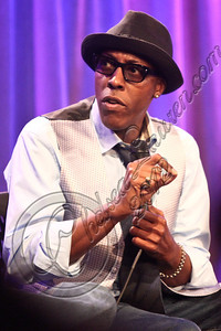 """LOS ANGELES, CA - APRIL 26:  Actor/comedian Arsenio Hall attends the """"Uprising"""" screening and panel discussion at at The GRAMMY Museum on April 26, 2012 in Los Angeles, California.  (Photo by Chelsea Lauren/WireImage)"""