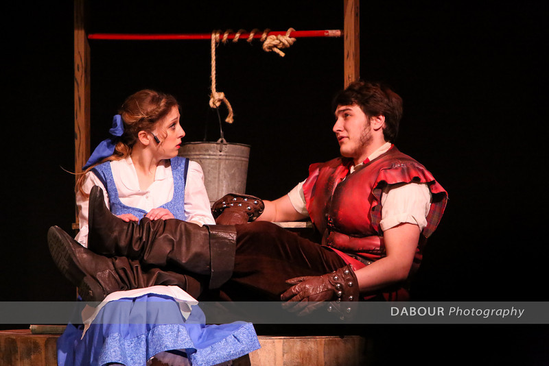 "Photos of VHS Theatre production of ""Beauty and the Beast"" photos by Dave Dabour"