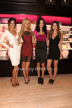 Alessandra Ambrosio , Erin Heatherton,Adrianna Lima, Lily Aldridge<br /> photo  by Rob Rich © 2011 robwayne1@aol.com 516-676-3939