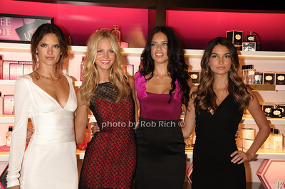 Alessandra Ambrosio, Erin Heatherton, Adrianna Lima, Lily Aldridge photo  by Rob Rich © 2011 robwayne1@aol.com 516-676-3939