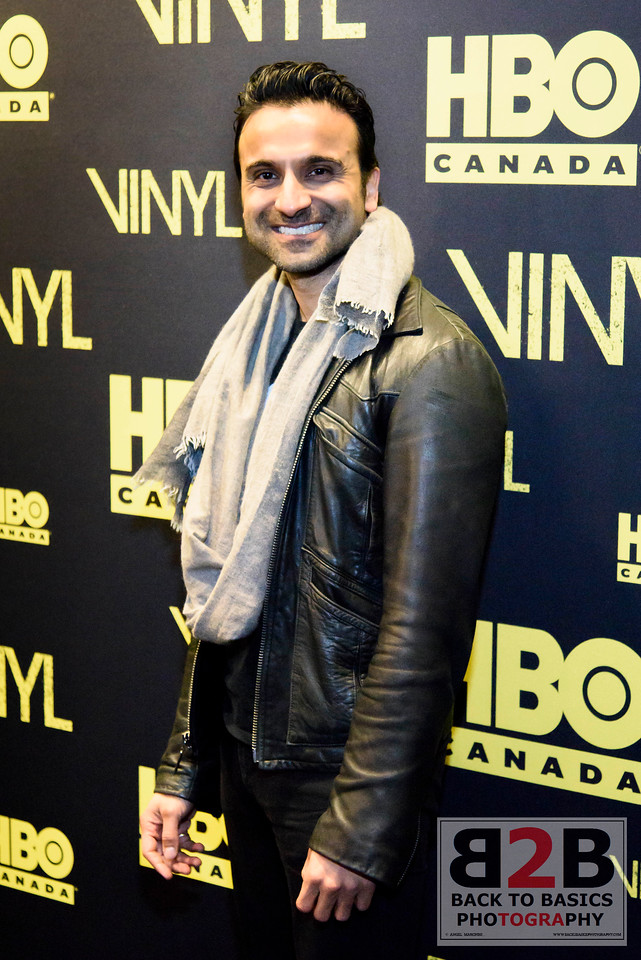 Canadian Red Carpet Premiere of VINYL