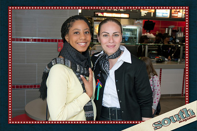Kay Johnson (SCAD Student, Monique Palmaccio (McDonald's Owner)