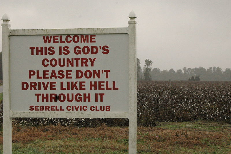 I don't think God approves. ...of the wording.