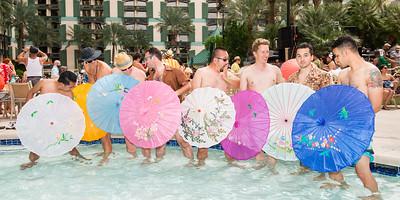 Parasol Boys (Panoramic)