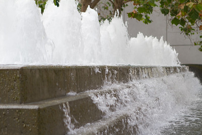Fountains at the Moscone Center