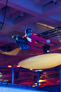 VMworld party always has a few random events, this year a half pipe with skaters