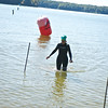 Virginia Ultra Iron Triathlon: Kay Scott finishes her swim