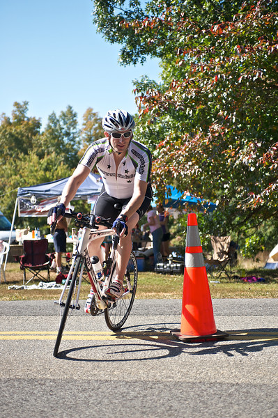 Virginia Ultra Iron Triathlon: Cyclists
