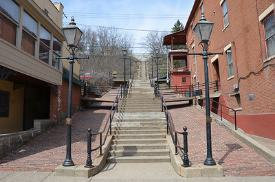 252 steps. Downtown Galena, IL.