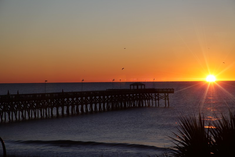 Sunrise Myrtle Beach, 2nd Ave Pier