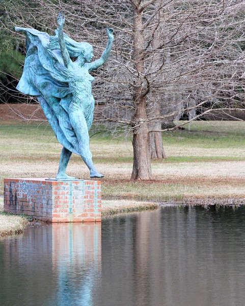 Statue in Brookgreen Gardens