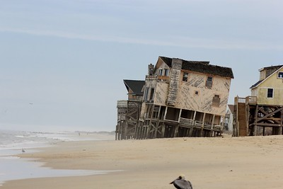 House that was a little to close to mother nature at the ocean