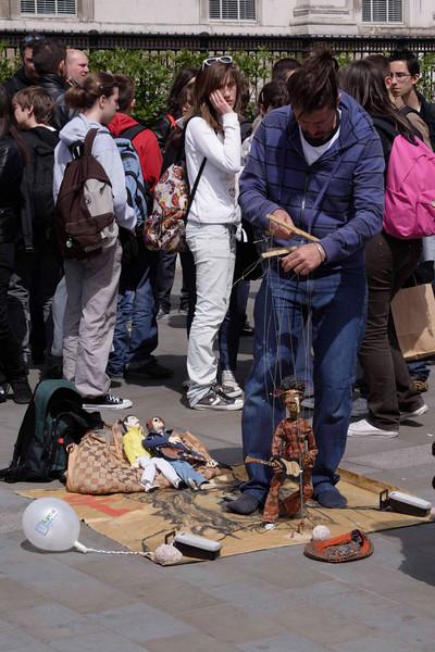 Puppeteer at Vaisakhi Sikh New Year Festival London 2009