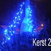Voorbereiding van kerst 2013!<br /> kerst-verlichting op het dak!