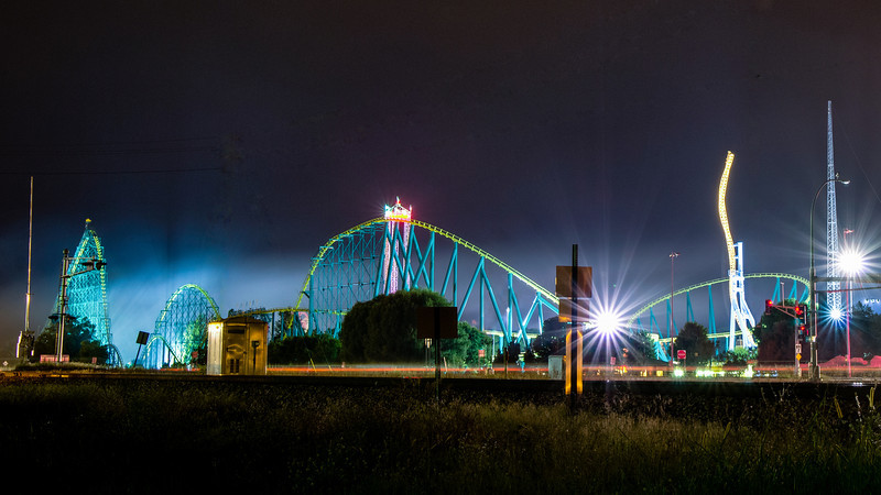 Valleyfair at Night