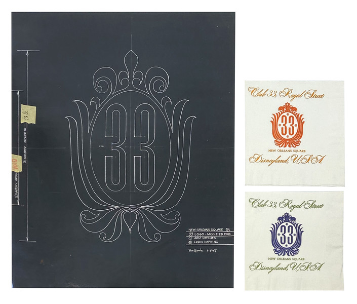 Club 33 Logo Artwork