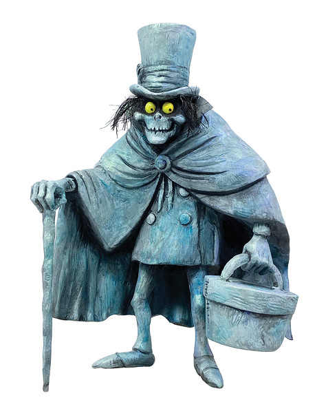Haunted Mansion Hatbox Ghost Maquette