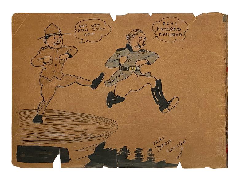 Lot 2 Walt Disney_s WWI Sketchbook b